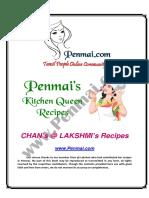 Chan Recipes PDF - Penmai's Kitchen Queen