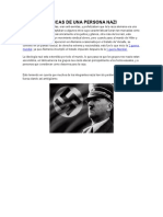 Caracteristicas de Una Persona Nazi y Hebreos