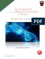 Oscar Vergara Huidor. Banco 2º Parcial Biología Molecular