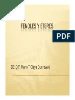 Diapositivas Fenoles y Eteres