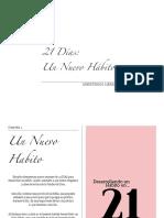 21 Dias Un Nuevo Habito - Ministerios Libre Soy