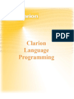 Clarion Language Programming