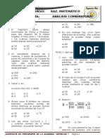 SEMINARIO RM 6 - CEPRE UNI -Analisis Combinatorio