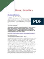 Rene Guenon y Carlos Marx