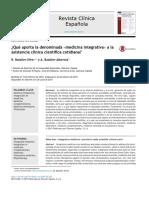 Aporte de la medicina integrativa a la consulta rutinaria
