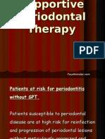 Supportive Periodontal Therapy Perio