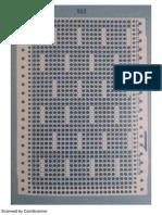 Imagens das cartela Ponto Pipoca e Ponto Concha para perfurar em casa acesso grátis.