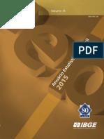 Anuario Estatistico Brasileiro - IBGE 2015 - Pagina 323 - Meios de Entrada No Pais