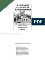 Blanco, Hugo, La Verdadera Historia de La Reforma Agraria