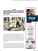 The Surreptitious Reincarnation of COINTELPRO With the COPS Gang-Stalking Program August 22, 2016 Written by Rahul D. Manchanda, Esq.