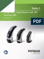 User Guide Naida S 029-10611