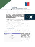 Instructivo Plataforma Web