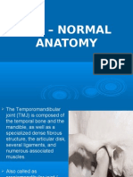 Tmj Normal Anatomy Oral Surgery