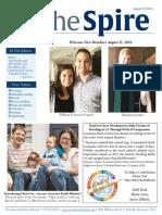 August 23 - The Spire Newsletter