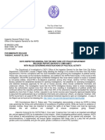An Investigation of NYPD's Compliance with Rules Governing Investigations of Political Activity
