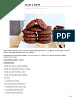 Blogseitb.com-Galletas Cookies de Cacao y Avena