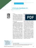 11-O Aparelho de Protração Mandibular IV Dental Press Março 2002