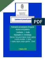 Scabbia Pediculosi Gaslini 2014