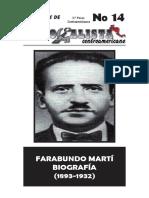 Biografia Farabundo Marti