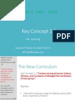Web APUSH Review Key Concept 1.3