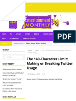 the140characterlimit emertainmentmonthly