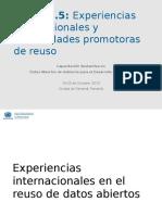 Taller 2.5 - Experiencias Internacionales y Comunidades Promotoras de Reuso - UNDESA_DPADM