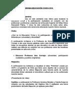 Acto Cívico 2016