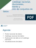 Taller 2.4 - Publicación en Catálogo Nacional, Sitios Institucionales, Mantenimiento y Presentación - UNDESA_DPADM
