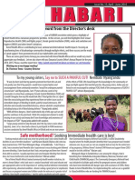 Amref Health Africa Issue #15 April June 2016