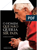 O Homem Que Nao Queria Ser Papa - Andreas Englisch