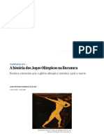 A História Dos Jogos Olímpicos Na Literatura _ Cultura _ EL PAÍS Brasil