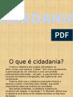 Cidadania - Slides