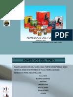 Presentacion Linea de Adhesivos Del Toro Para Distribucion Freund 14042016