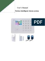 BAILINGA-E99+GSM+alarm+system+user+manual