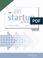 Kauffman Index of Startup Activity