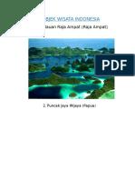 15 Objek Wisata Indonesia