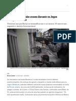 A Violência Que Não Cessou Durante Os Jogos Olímpicos Do Rio _ Brasil _ EL PAÍS Brasil
