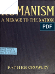 Romanism,_A_Menace_to_the_Nation by Jeremiah J. Crowley, A Roman Catholic Priest for Twenty-One Years