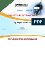 Circuitos Electronicos II - Semana 06