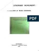 The Revolutionary Movement a Diagnosis of World Disorders by J Findlater 1933