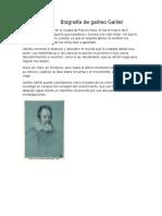 Biografía de Galileo Galilei Ghduig