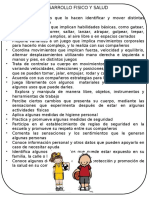Sugerencias Desarrollo Físico Y Salud