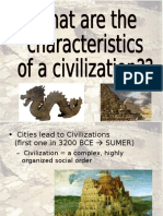 8 features of civilization power point