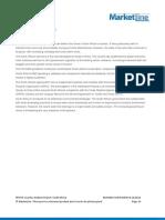 Marketline - Pestle Analysis