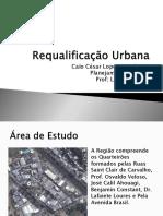 Requalificação Urbana