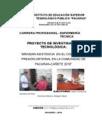 Proyecto de Presion Arterial 2016 Corregir 05-07-16 Entregado