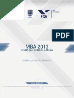 Gerenciamento de Projetos 2013