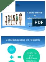 2 Calculo Dosis en Pediatria I