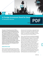 Is Foreign Investment Good for Development