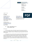 LSKS Letter Re